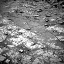 Nasa's Mars rover Curiosity acquired this image using its Right Navigation Camera on Sol 2950, at drive 2412, site number 83