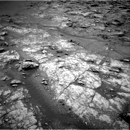 Nasa's Mars rover Curiosity acquired this image using its Right Navigation Camera on Sol 2950, at drive 2424, site number 83