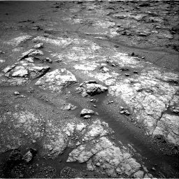 Nasa's Mars rover Curiosity acquired this image using its Right Navigation Camera on Sol 2950, at drive 2430, site number 83
