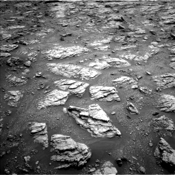 Nasa's Mars rover Curiosity acquired this image using its Left Navigation Camera on Sol 2951, at drive 2682, site number 83
