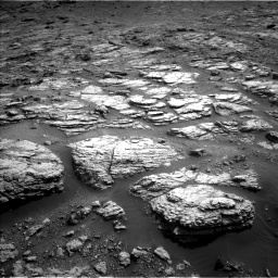 Nasa's Mars rover Curiosity acquired this image using its Left Navigation Camera on Sol 2951, at drive 2778, site number 83