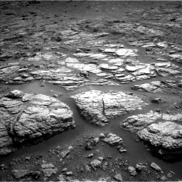 Nasa's Mars rover Curiosity acquired this image using its Left Navigation Camera on Sol 2951, at drive 2784, site number 83