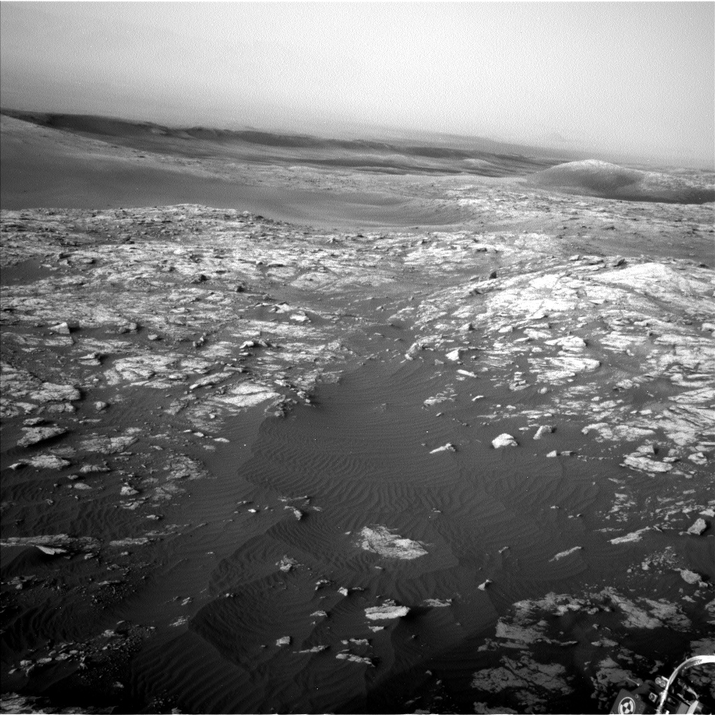 Nasa's Mars rover Curiosity acquired this image using its Left Navigation Camera on Sol 2951, at drive 2796, site number 83