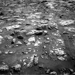 Nasa's Mars rover Curiosity acquired this image using its Right Navigation Camera on Sol 2951, at drive 2700, site number 83