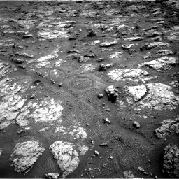 Nasa's Mars rover Curiosity acquired this image using its Right Navigation Camera on Sol 2951, at drive 2718, site number 83
