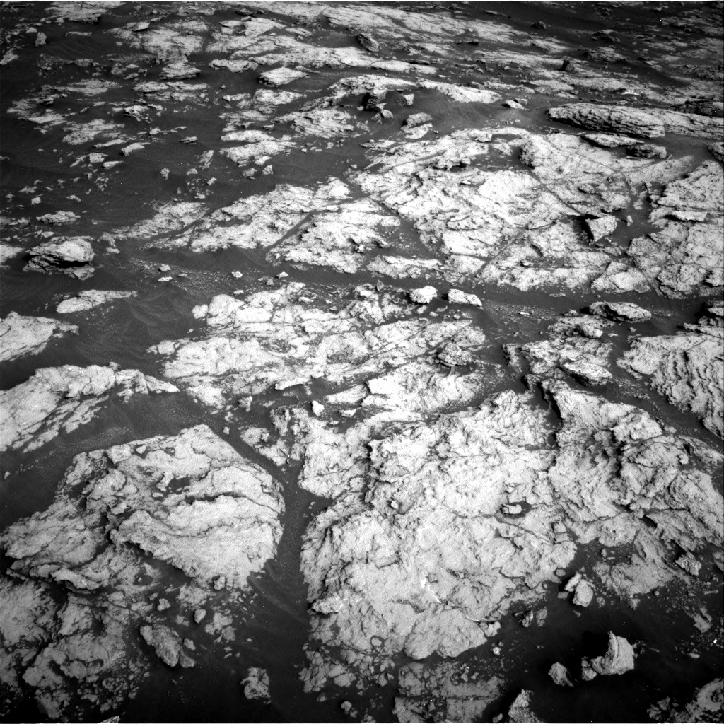Nasa's Mars rover Curiosity acquired this image using its Right Navigation Camera on Sol 2951, at drive 2760, site number 83