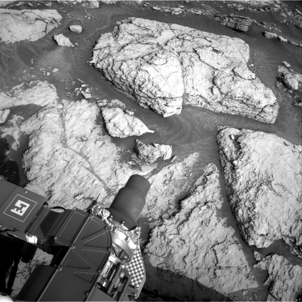 Nasa's Mars rover Curiosity acquired this image using its Right Navigation Camera on Sol 2951, at drive 2796, site number 83