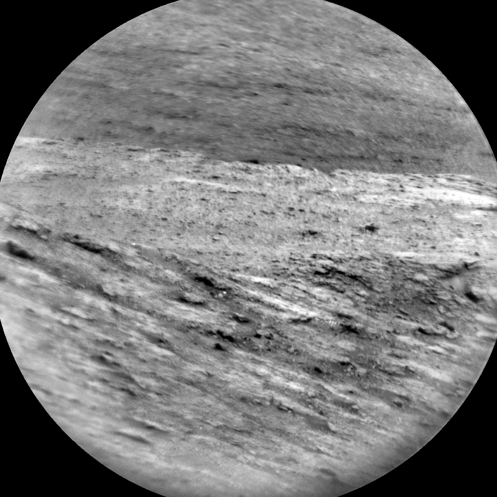 Nasa's Mars rover Curiosity acquired this image using its Chemistry & Camera (ChemCam) on Sol 2951, at drive 2580, site number 83