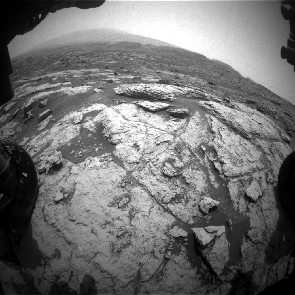 Nasa's Mars rover Curiosity acquired this image using its Front Hazard Avoidance Camera (Front Hazcam) on Sol 2952, at drive 2796, site number 83