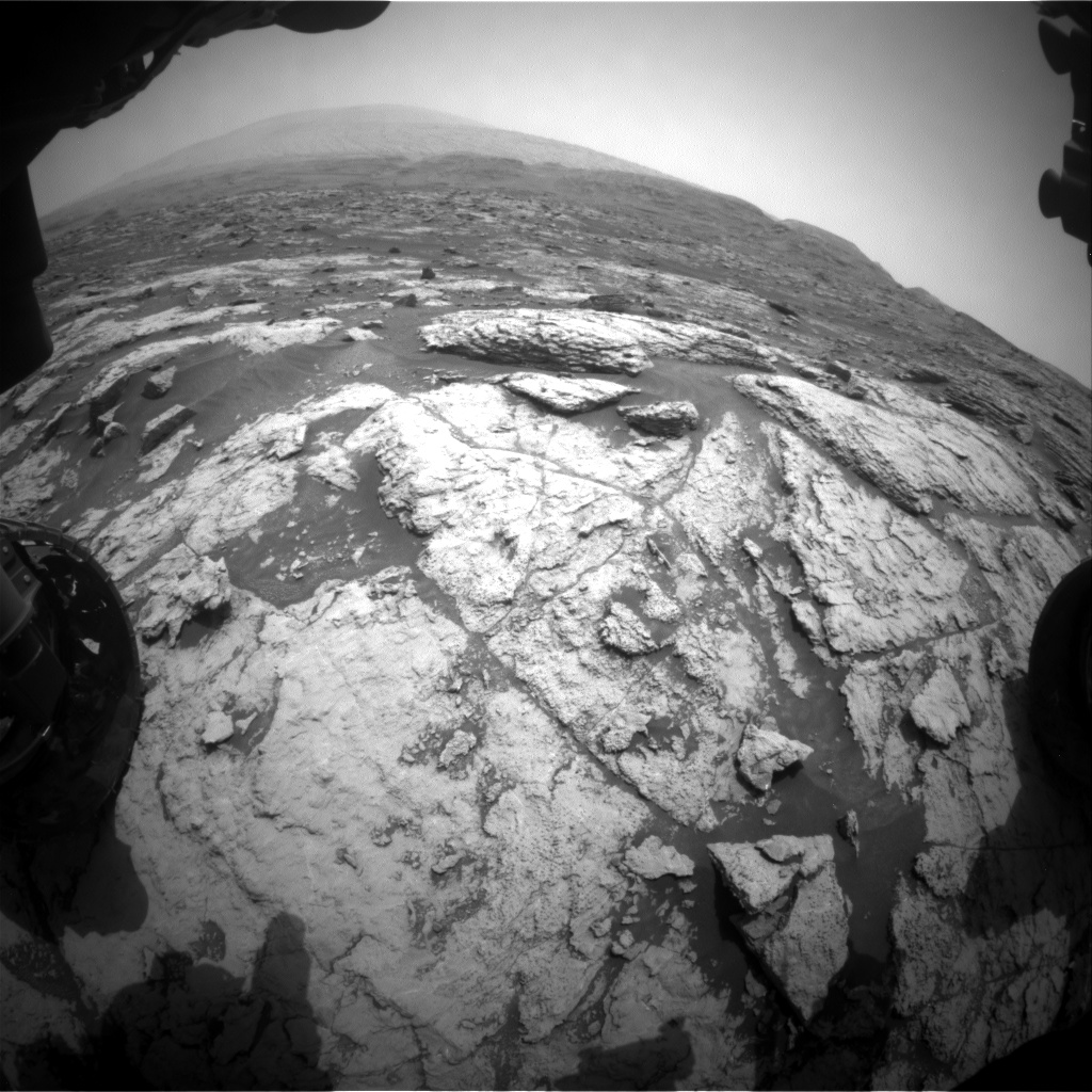 Nasa's Mars rover Curiosity acquired this image using its Front Hazard Avoidance Camera (Front Hazcam) on Sol 2953, at drive 2796, site number 83