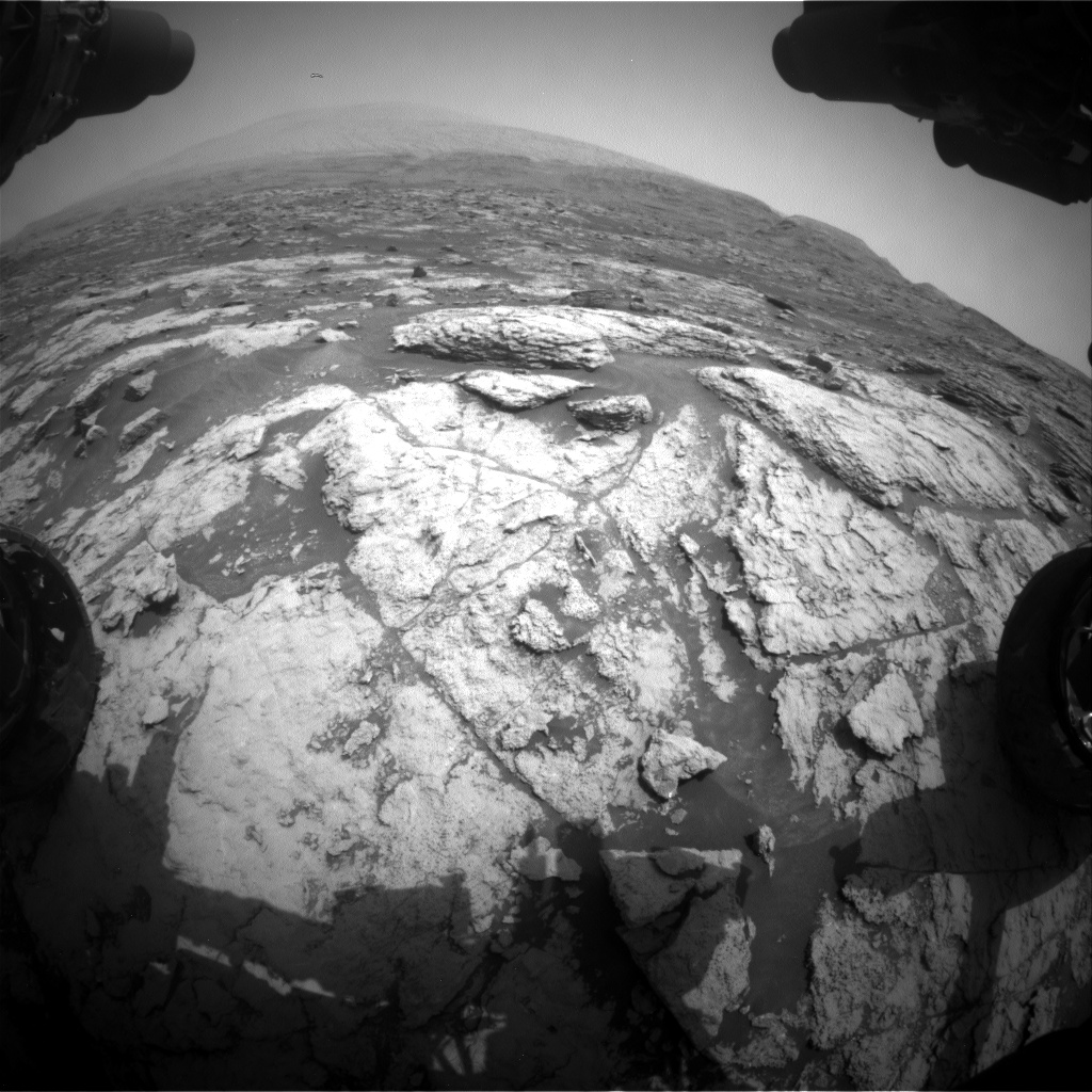 Nasa's Mars rover Curiosity acquired this image using its Front Hazard Avoidance Camera (Front Hazcam) on Sol 2954, at drive 2796, site number 83