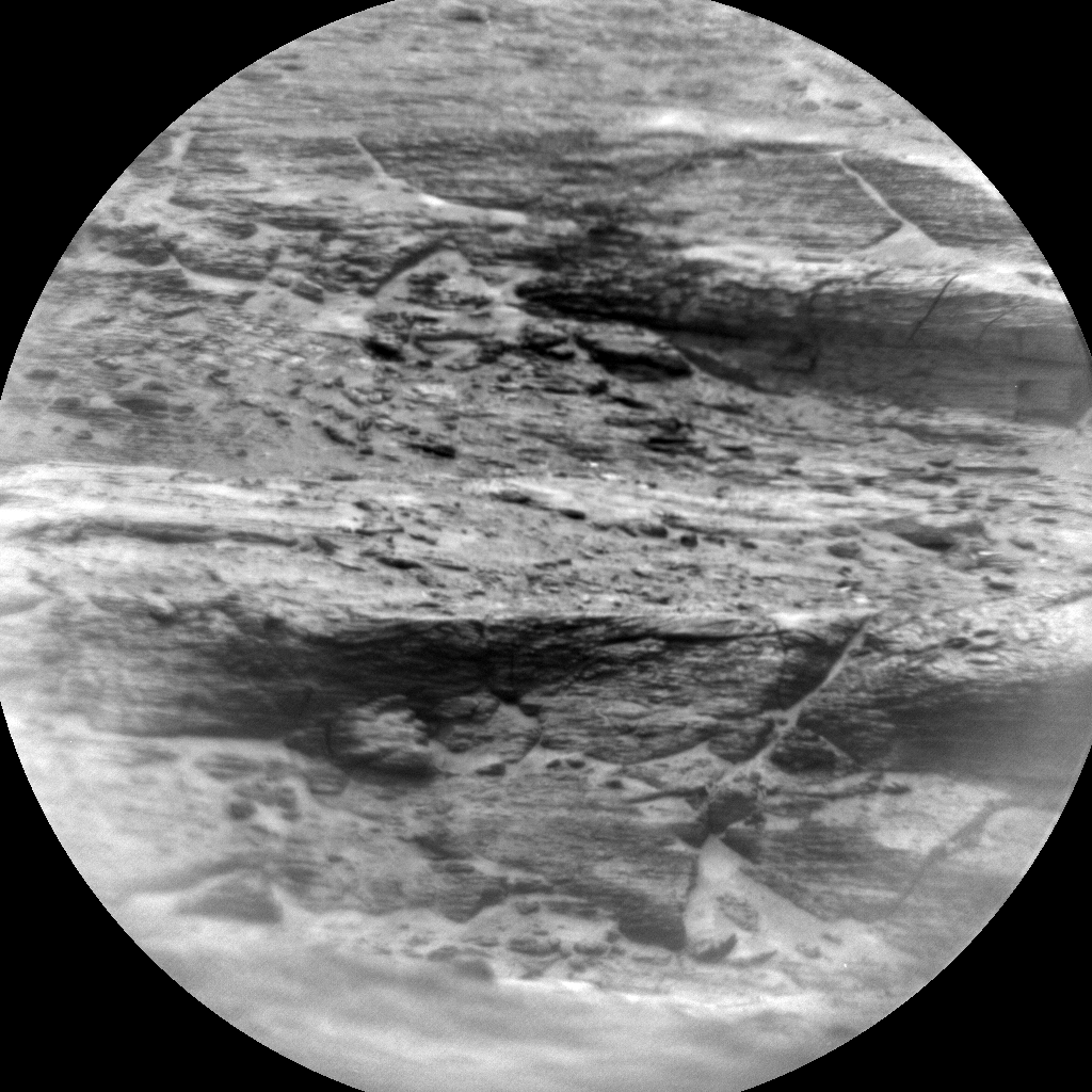 Nasa's Mars rover Curiosity acquired this image using its Chemistry & Camera (ChemCam) on Sol 2954, at drive 2796, site number 83