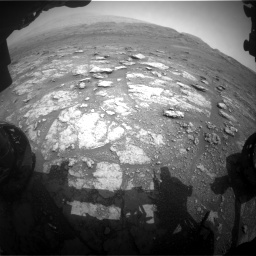 Nasa's Mars rover Curiosity acquired this image using its Front Hazard Avoidance Camera (Front Hazcam) on Sol 2956, at drive 3156, site number 83