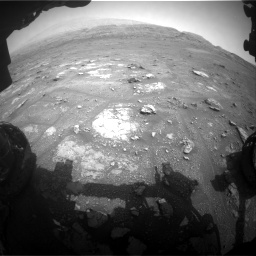 Nasa's Mars rover Curiosity acquired this image using its Front Hazard Avoidance Camera (Front Hazcam) on Sol 2956, at drive 3192, site number 83