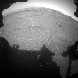 Nasa's Mars rover Curiosity acquired this image using its Front Hazard Avoidance Camera (Front Hazcam) on Sol 2956, at drive 3264, site number 83
