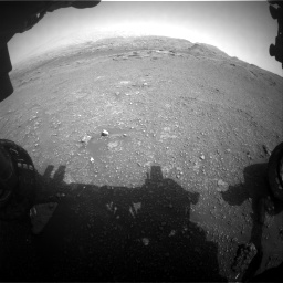 Nasa's Mars rover Curiosity acquired this image using its Front Hazard Avoidance Camera (Front Hazcam) on Sol 2956, at drive 3312, site number 83