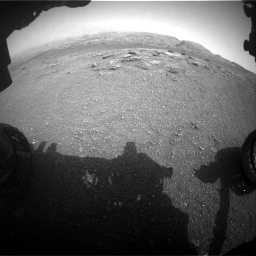 Nasa's Mars rover Curiosity acquired this image using its Front Hazard Avoidance Camera (Front Hazcam) on Sol 2956, at drive 3336, site number 83