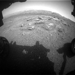 Nasa's Mars rover Curiosity acquired this image using its Front Hazard Avoidance Camera (Front Hazcam) on Sol 2956, at drive 3342, site number 83