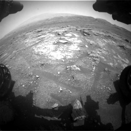 Nasa's Mars rover Curiosity acquired this image using its Front Hazard Avoidance Camera (Front Hazcam) on Sol 2956, at drive 3108, site number 83