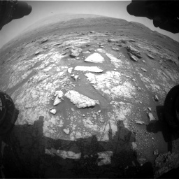 Nasa's Mars rover Curiosity acquired this image using its Front Hazard Avoidance Camera (Front Hazcam) on Sol 2956, at drive 3120, site number 83
