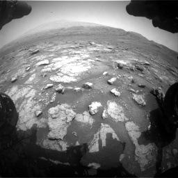 Nasa's Mars rover Curiosity acquired this image using its Front Hazard Avoidance Camera (Front Hazcam) on Sol 2956, at drive 3132, site number 83