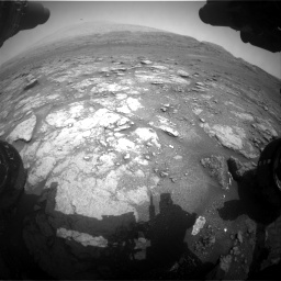 Nasa's Mars rover Curiosity acquired this image using its Front Hazard Avoidance Camera (Front Hazcam) on Sol 2956, at drive 3144, site number 83