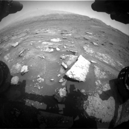 Nasa's Mars rover Curiosity acquired this image using its Front Hazard Avoidance Camera (Front Hazcam) on Sol 2956, at drive 3180, site number 83