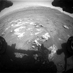 Nasa's Mars rover Curiosity acquired this image using its Front Hazard Avoidance Camera (Front Hazcam) on Sol 2956, at drive 3204, site number 83