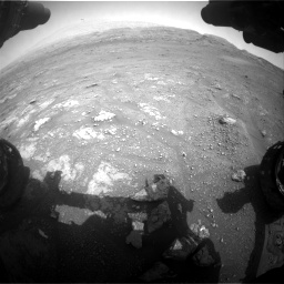 Nasa's Mars rover Curiosity acquired this image using its Front Hazard Avoidance Camera (Front Hazcam) on Sol 2956, at drive 3216, site number 83