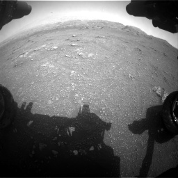 Nasa's Mars rover Curiosity acquired this image using its Front Hazard Avoidance Camera (Front Hazcam) on Sol 2956, at drive 3276, site number 83