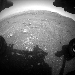 Nasa's Mars rover Curiosity acquired this image using its Front Hazard Avoidance Camera (Front Hazcam) on Sol 2956, at drive 3288, site number 83