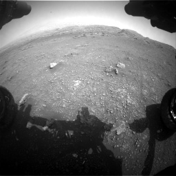 Nasa's Mars rover Curiosity acquired this image using its Front Hazard Avoidance Camera (Front Hazcam) on Sol 2956, at drive 3300, site number 83