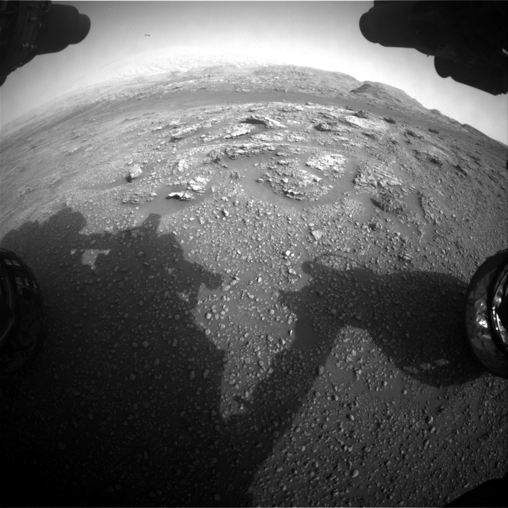Nasa's Mars rover Curiosity acquired this image using its Front Hazard Avoidance Camera (Front Hazcam) on Sol 2956, at drive 0, site number 84
