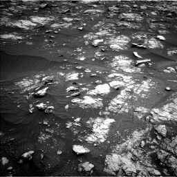 Nasa's Mars rover Curiosity acquired this image using its Left Navigation Camera on Sol 2956, at drive 2832, site number 83