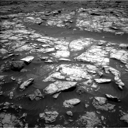 Nasa's Mars rover Curiosity acquired this image using its Left Navigation Camera on Sol 2956, at drive 2928, site number 83