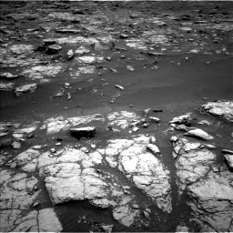 Nasa's Mars rover Curiosity acquired this image using its Left Navigation Camera on Sol 2956, at drive 2970, site number 83