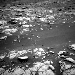 Nasa's Mars rover Curiosity acquired this image using its Left Navigation Camera on Sol 2956, at drive 2976, site number 83