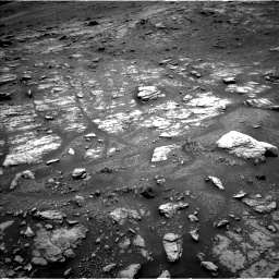 Nasa's Mars rover Curiosity acquired this image using its Left Navigation Camera on Sol 2956, at drive 3024, site number 83