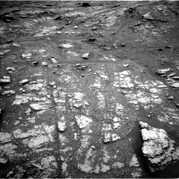 Nasa's Mars rover Curiosity acquired this image using its Left Navigation Camera on Sol 2956, at drive 3048, site number 83