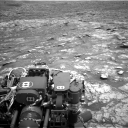 Nasa's Mars rover Curiosity acquired this image using its Left Navigation Camera on Sol 2956, at drive 3120, site number 83