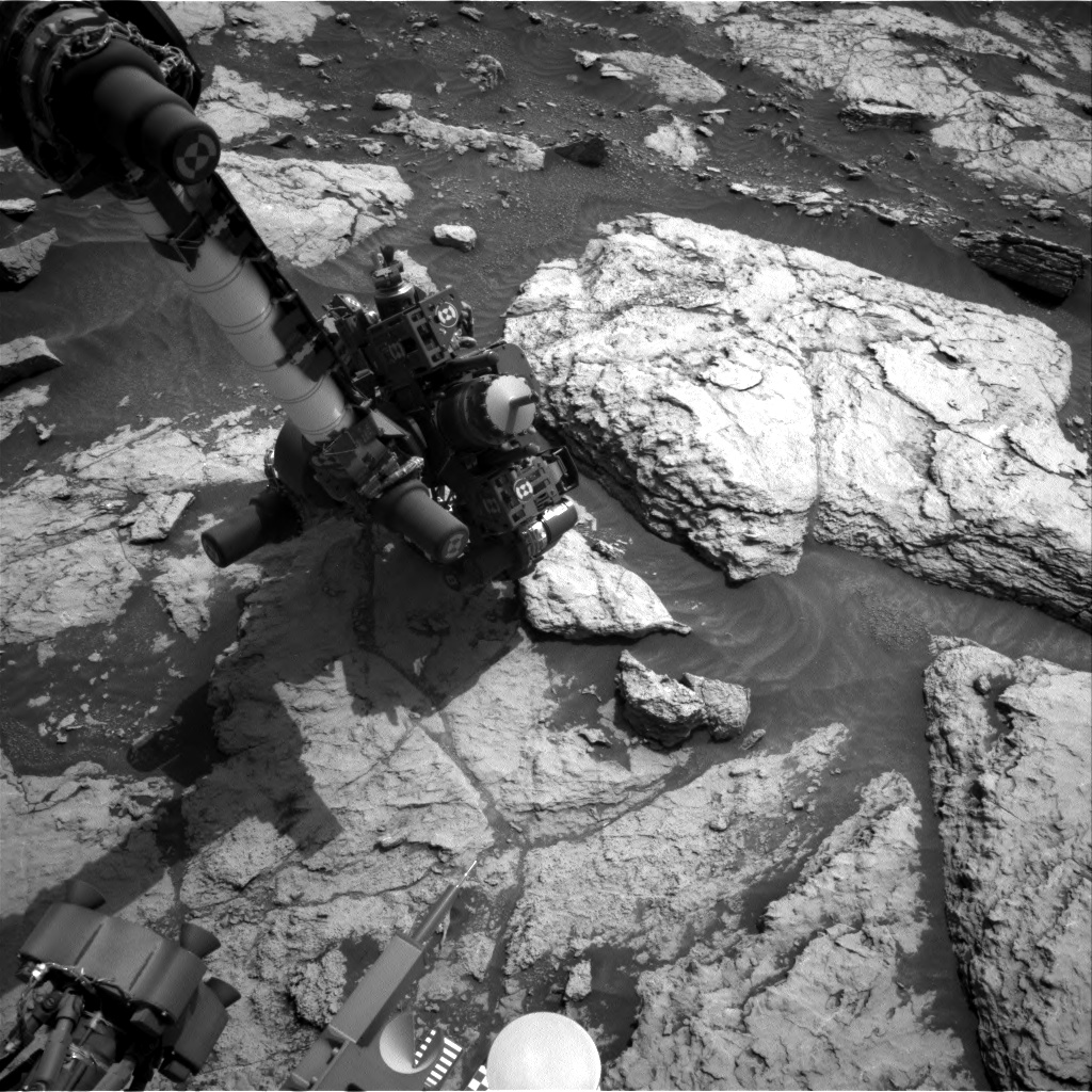 Nasa's Mars rover Curiosity acquired this image using its Right Navigation Camera on Sol 2956, at drive 2796, site number 83