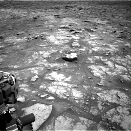 Nasa's Mars rover Curiosity acquired this image using its Right Navigation Camera on Sol 2956, at drive 3144, site number 83