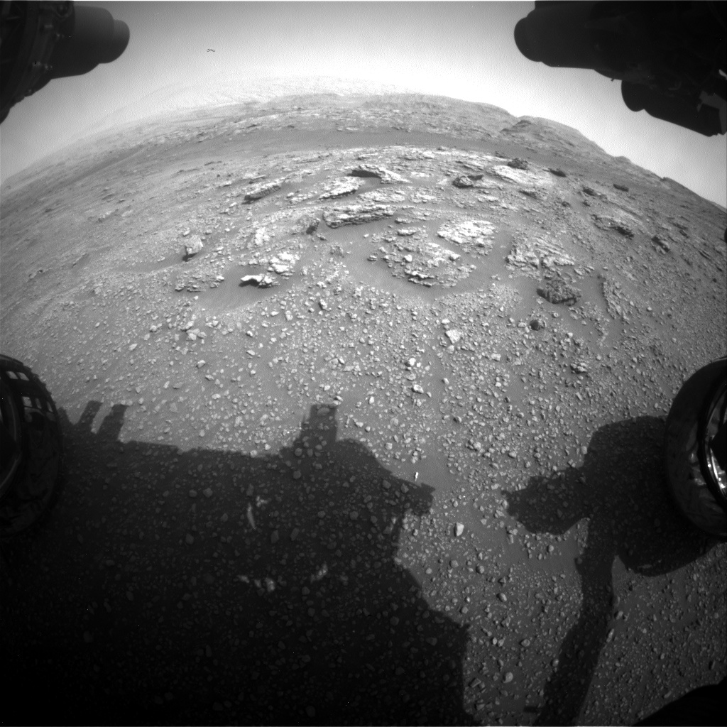 Nasa's Mars rover Curiosity acquired this image using its Front Hazard Avoidance Camera (Front Hazcam) on Sol 2957, at drive 0, site number 84