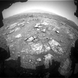 Nasa's Mars rover Curiosity acquired this image using its Front Hazard Avoidance Camera (Front Hazcam) on Sol 2958, at drive 204, site number 84