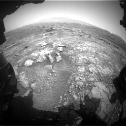 Nasa's Mars rover Curiosity acquired this image using its Front Hazard Avoidance Camera (Front Hazcam) on Sol 2958, at drive 222, site number 84