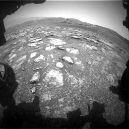 Nasa's Mars rover Curiosity acquired this image using its Front Hazard Avoidance Camera (Front Hazcam) on Sol 2958, at drive 270, site number 84