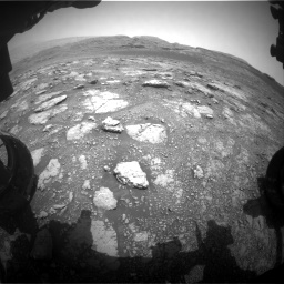 Nasa's Mars rover Curiosity acquired this image using its Front Hazard Avoidance Camera (Front Hazcam) on Sol 2958, at drive 276, site number 84
