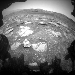 Nasa's Mars rover Curiosity acquired this image using its Front Hazard Avoidance Camera (Front Hazcam) on Sol 2958, at drive 282, site number 84