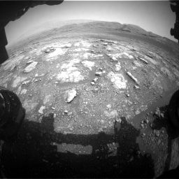 Nasa's Mars rover Curiosity acquired this image using its Front Hazard Avoidance Camera (Front Hazcam) on Sol 2958, at drive 342, site number 84