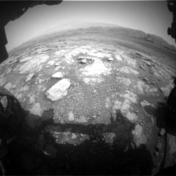 Nasa's Mars rover Curiosity acquired this image using its Front Hazard Avoidance Camera (Front Hazcam) on Sol 2958, at drive 354, site number 84